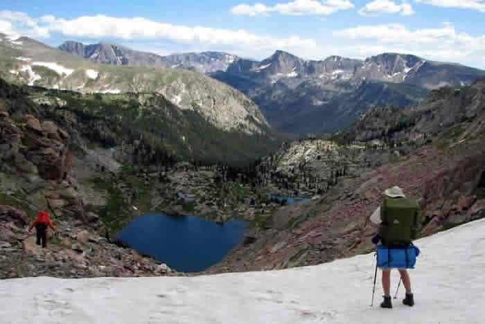 Backpacking Into Ptarmigan Creek