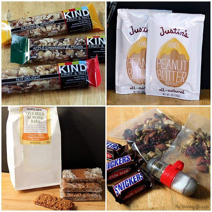 Snacks for backpacking