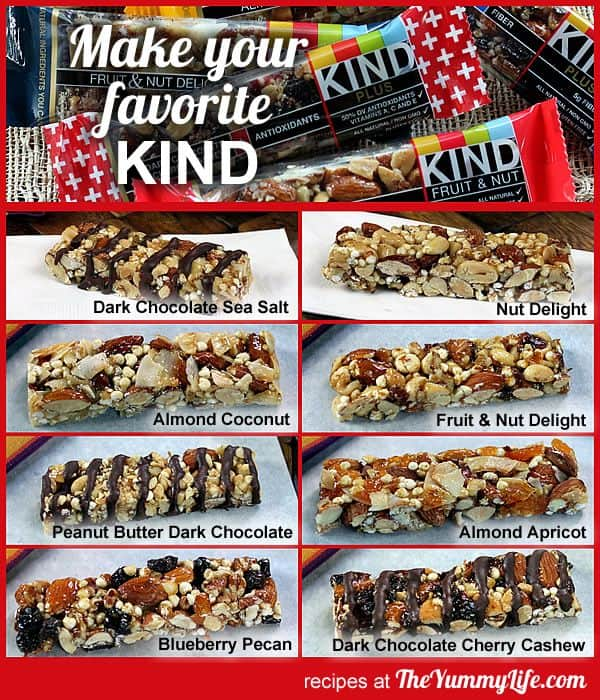 DIY KIND bar copycats for backpacking
