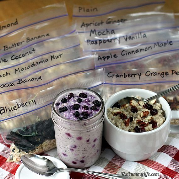 [2020] Healthy Instant Oatmeal Packets–for hot & refrigerator oats