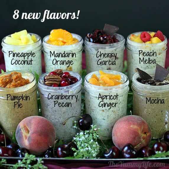 8 New Refrigerator Oatmeal Flavors