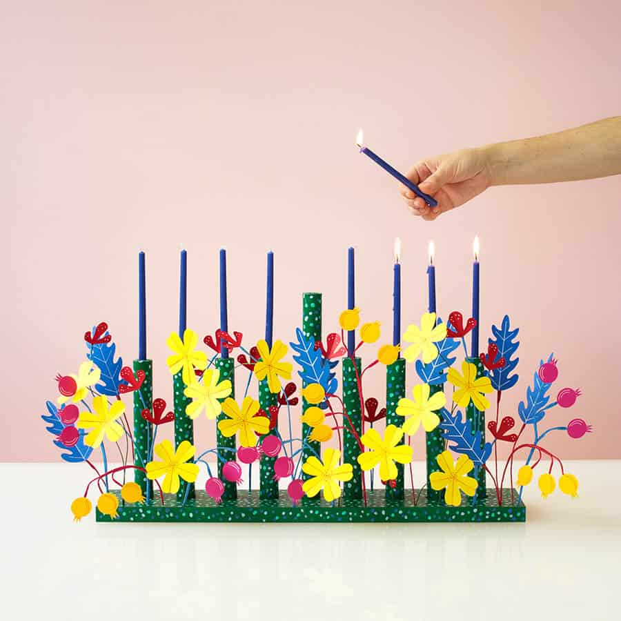 [2020] DIY Josef Frank Inspired Menorah by David Stark Design