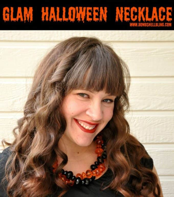 [2020] DIY Glam Halloween Necklace