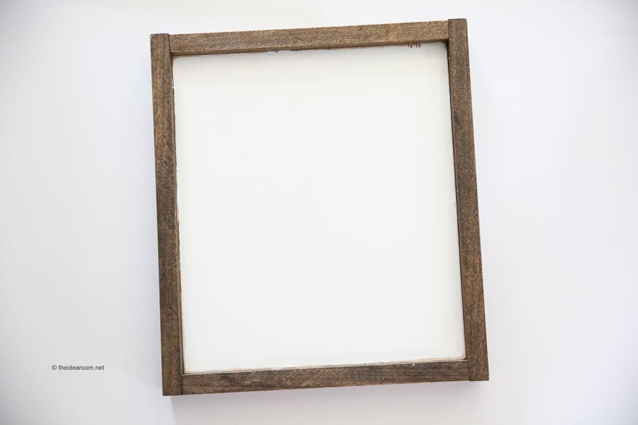 farmhouse wood frame