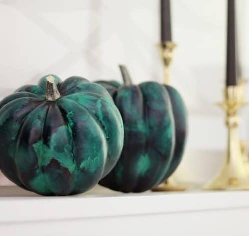 2020 DIY Project: Malachite Pumpkins by Hank and Hunt