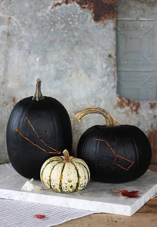 [2020] A Guide On Making An Amazing Constellation Pumpkin by The Merrythought