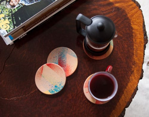 2020 DIY Project: Leather Staining — Coasters