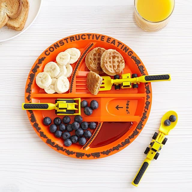 Best Secret Santa Gifts 2019: Kids Construction Plate 2020