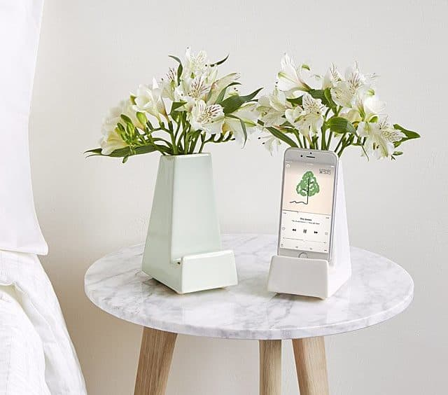 Best Hanukkah Gifts 2019: Bedside Table Flower Vase Phone Holder 2020