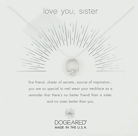 Best Gifts For Sisters 2019: Sister Necklace 2020