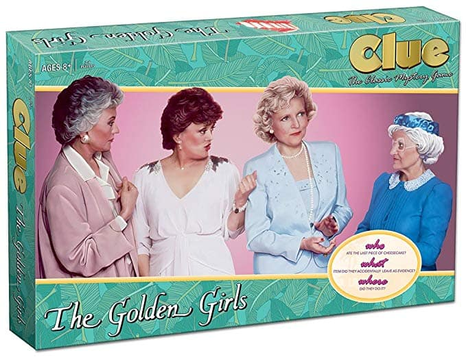 Best White Elephant Gifts 2019: Golden Girls Monopoly 2020
