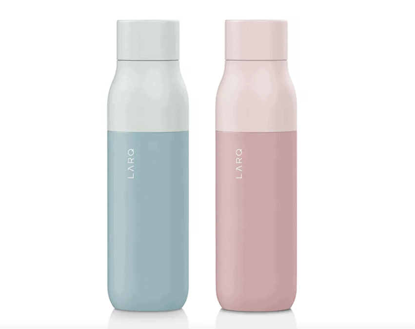 Christmas Gift Ideas for Parents 2019: Larq Self Cleaning Water Bottle 2020
