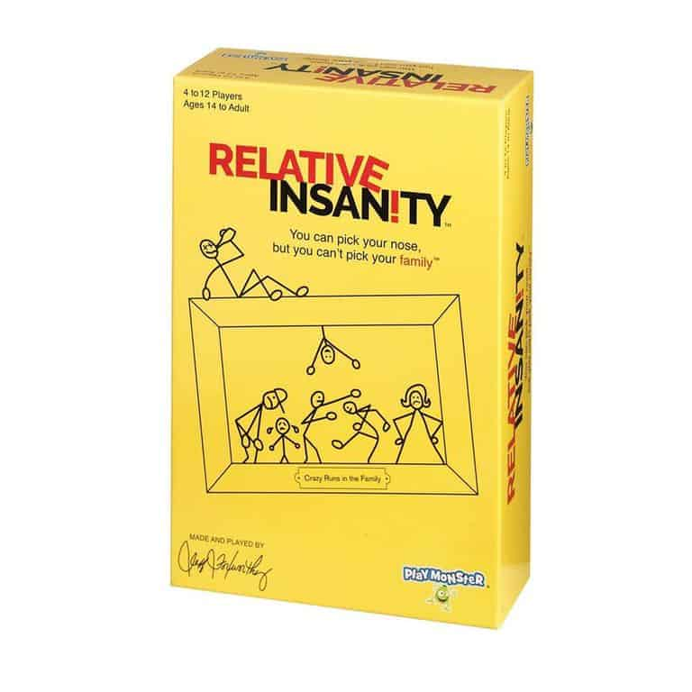 Best Stocking Stuffers 2019: Relative Insanity Game for Kids 2020