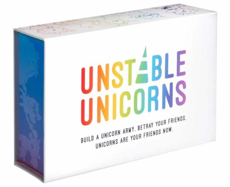 Cool Gifts For Teens 2019: Unstable Unicorns Game 2020