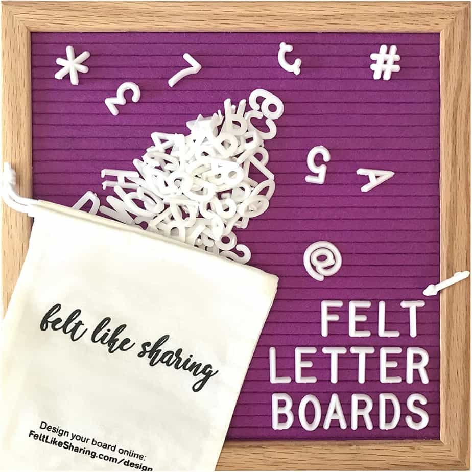 Cool Gifts For Teens 2019: Felt Letter Board 2020