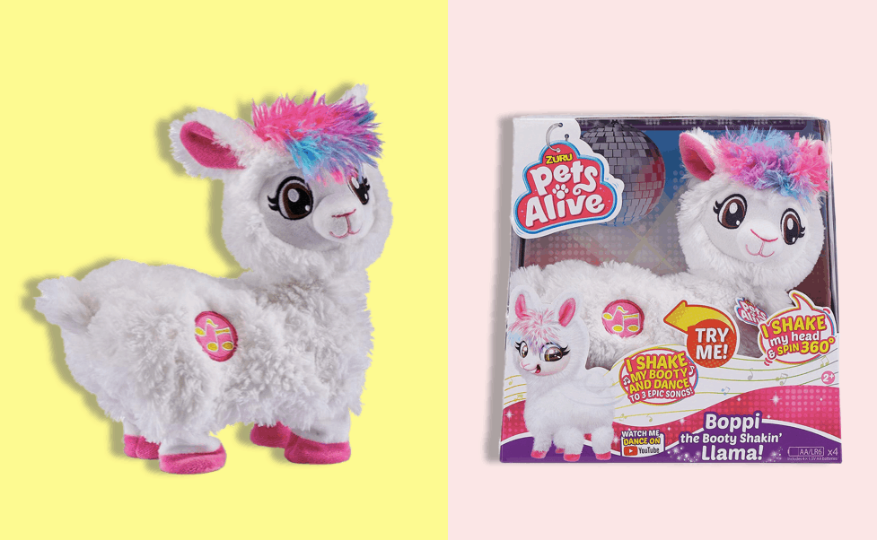 Hot Toy of 2019: Boppi the Booty Shakin Llama for Christmas 2020