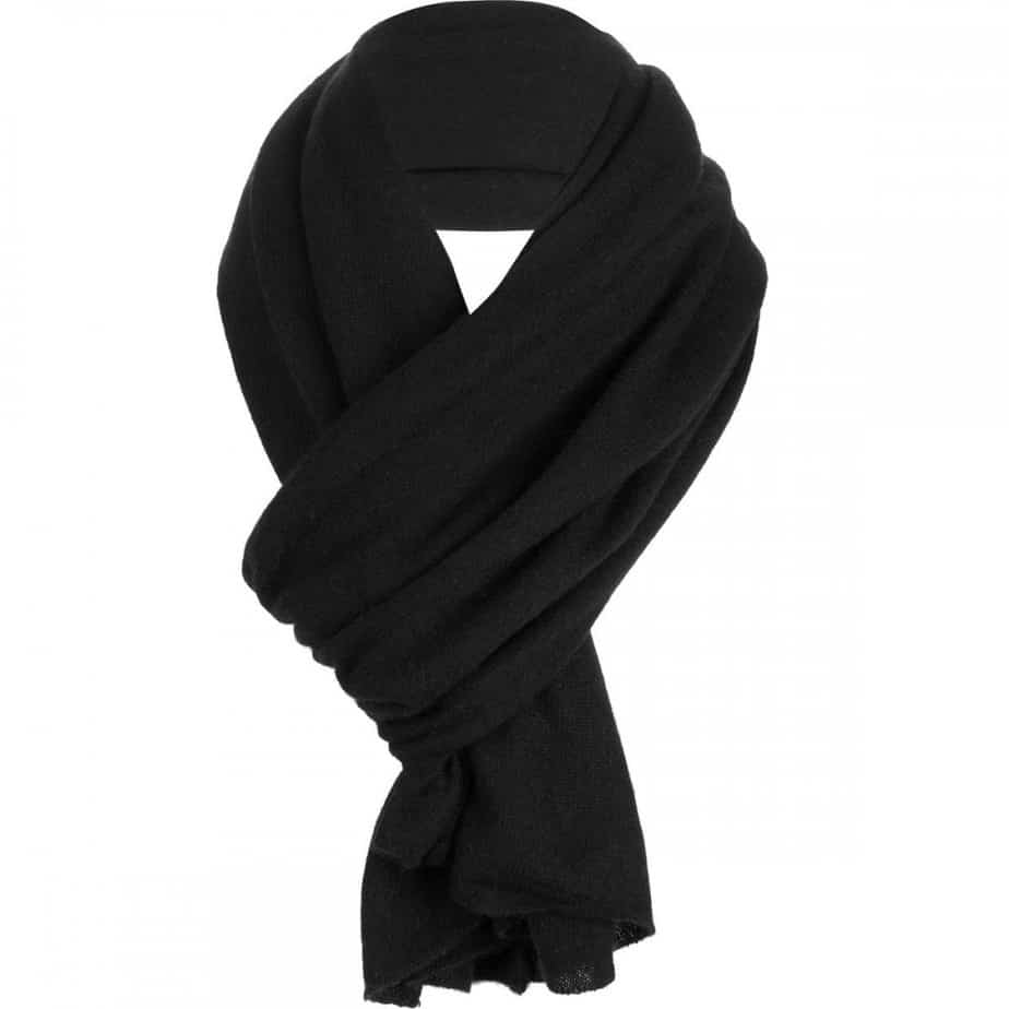Christmas Gifts For Women 2019: Black Cashmere Scarf for Girlfriend 2020