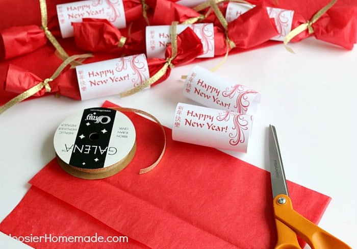 Fill party favors