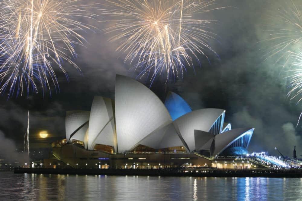 Sydney Opera House New Years Fireworks