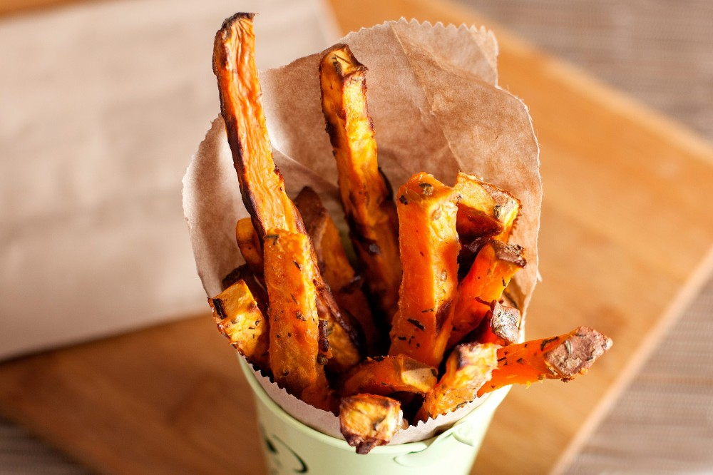 tasty healthy snacks | sweet potato fries
