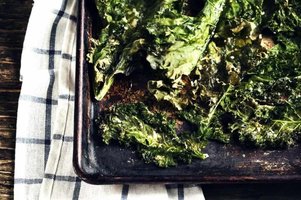 tasty healthy snacks | kale