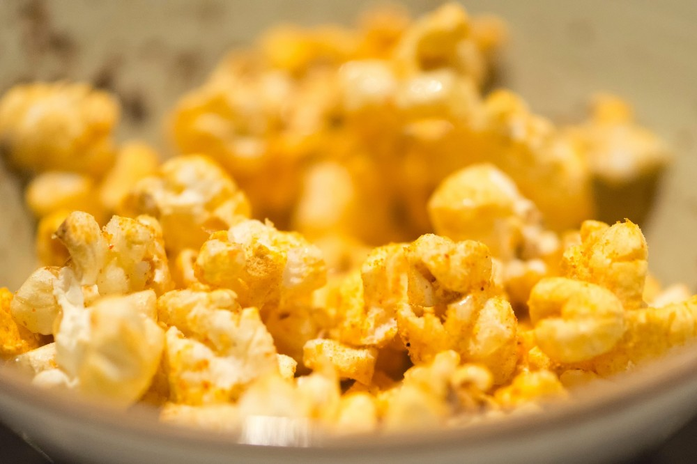 tasty healthy snacks | popcorn