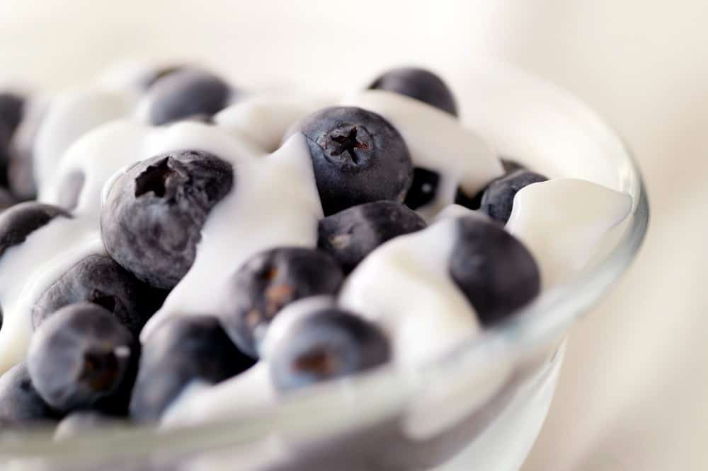 tasty healthy snacks | yogurt