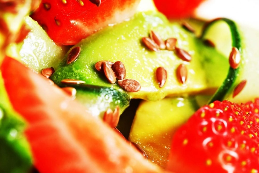 tasty healthy snacks | fruit taco